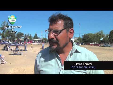 Adrián Maderna en el Torneo de Beach Volley