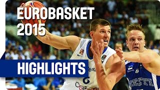 Watch the highlights of Czech Republic v Estonia at the EuroBasket 2015. For more info on the event go to...
