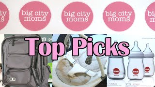 Joovy Boob, Mountain Buggy Strollers, Diaper Dude and more at Big City Moms Biggest Baby Shower