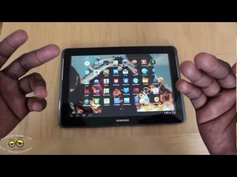 Samsung Galaxy Tab 2 10.1 Review- ICS coating on an Old shell