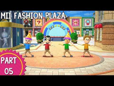 Wii Party U – Episode 05: Mii Fashion Plaza (Part 1/3)