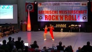 Kristin Palfreyman & Vitus Reiter - Bayerische Meisterschaft 2014