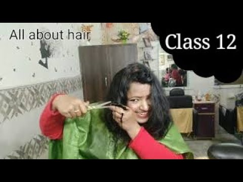 Hair cutting - self hair cut कैसे करे  feather to step layer hair cut in hindi