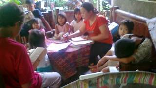 Agan Kids Learning God's Word!