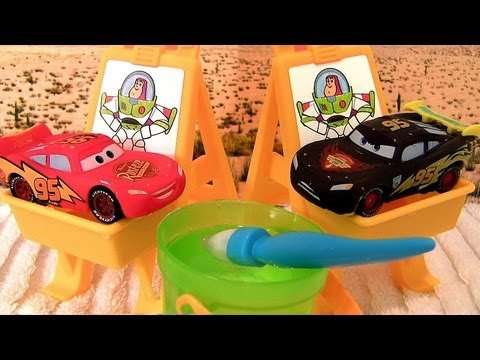 toys - From disney pixar cars n cars 2 color changers, this is the slide n surprise playground playset. Kids can have water fun with this playground color changing ...