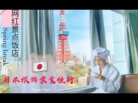 🇯🇵日本旅行去哪?网红酒店餐厅 👘和服租借 摄影师推荐 喂小鹿攻略🦌!东京 大阪 京都 奈良 видео