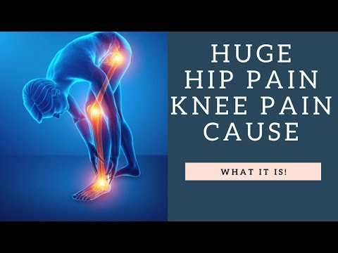 Weakness In This Muscle Causes The MOST Hip Pain And Knee Pain! | How To Fix It