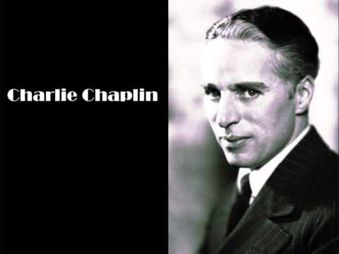Charlie Chaplin on the silent films of the old days