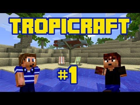 Tropicraft: The Return Ep. 1 - Back to the Tropics! (Minecraft Mod LP)