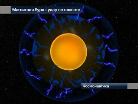 Магнитная буря - удар по планете