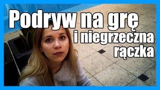 Zajebisty podryw na niegrzeczną rączkę! Pokręcony koleś z Łodzi szaleje na mieście :D