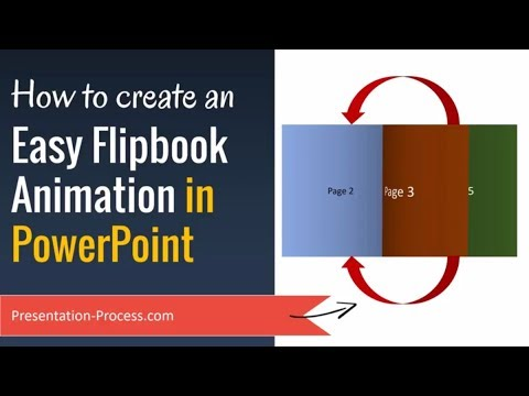How to Create Easy Flipbook Animation Effect in PowerPoint