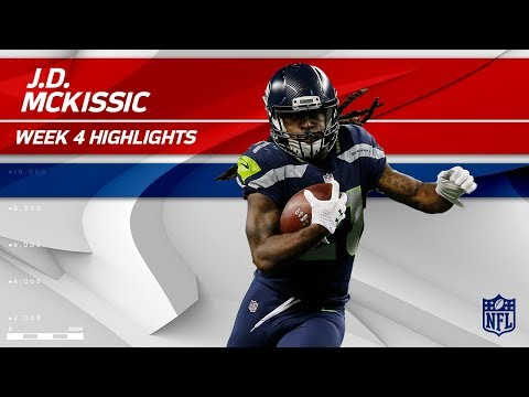 Video: J.D. McKissic's Big Night w/ 2 TDs vs. Indianapolis | Colts vs. Seahawks | Wk 4 Player Highlights