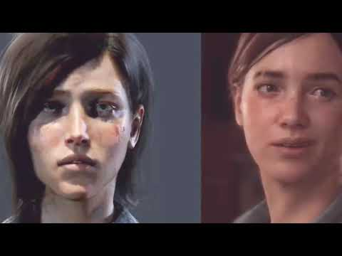 The Last of Us 2 Ellie - Before and After SJW agenda
