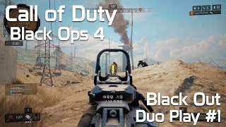 Video [CoD Black Ops 4] Black Out Duo Play Clip #1 - 콜 오브 듀티 블랙옵스 4 : 블랙아웃 2인 플레이 #1 MP3, 3GP, MP4, WEBM, AVI, FLV Oktober 2018
