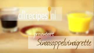 Sinaasappelvinaigrette