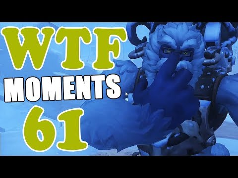 Overwatch WTF Moments Ep.61 (видео)