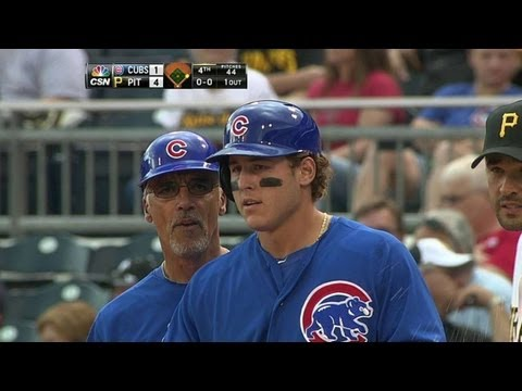 Video: CHC@PIT: Rizzo gets Cubs on board in the fourth