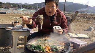 지글지글 가마솥 [[불고기(Bulgogi)]] 요리&먹방!! - Mukbang eating show
