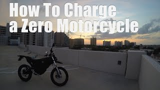 10. How to Charge a Zero Electric Motorcycle