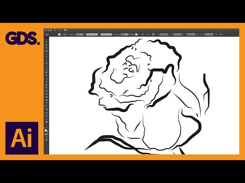 Drawing With The Pen Tool, Pencil Tool & Brush Tool Ep10/19 [Adobe Illustrator For Beginners]