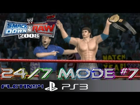 WWE Smackdown vs Raw 2008 | CZ/SK | Let's Play - Gameplay | 24/7 Mode #7 | #7 | PS3 | [1080p]