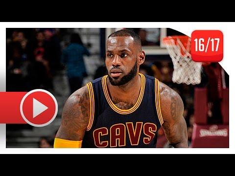 LeBron James Full Highlights vs Celtics (2016.11.03) - 30 Pts, 12 Ast, 7 Reb, Chill Mode!