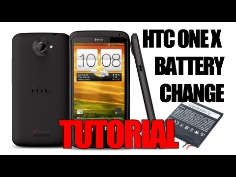 comment demonter la batterie du htc one s