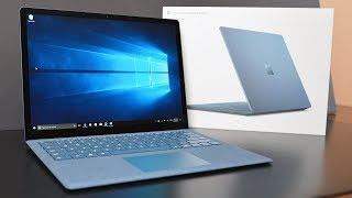 Unboxing and Review of the NEW Microsoft Surface Laptop in Cobalt Blue and Burgundy with an in-depth look at the hardware with performance benchmarks.  Thanks for Watching!Please Like and Subscribe▶Subscribe: http://goo.gl/UEhJs▶Facebook: http://www.facebook.com/DetroitBORG▶Twitter: http://www.twitter.com/DetroitBORG▶Snapchat: https://www.snapchat.com/add/thedetroitborg▶Instagram: http://www.instagram.com/DetroitBORG