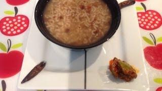 Horse Gram Porridge Or Kollu Kanji