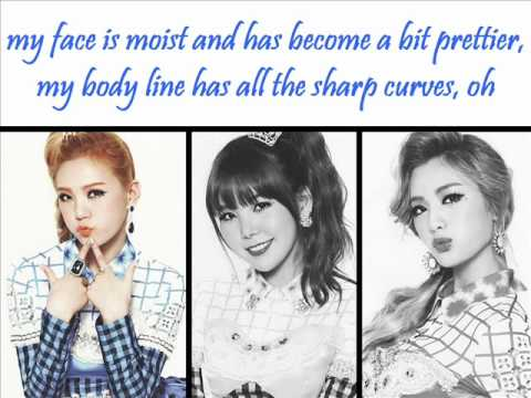 Orange Caramel – Bubble Bath (+english lyrics)