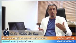 Burun Estetiği Masajı Önemi - Mustafa Ali Yanık