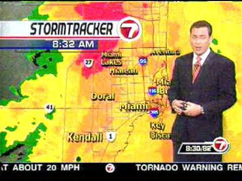 Hurricane Wilma News Coverage from WSVN
