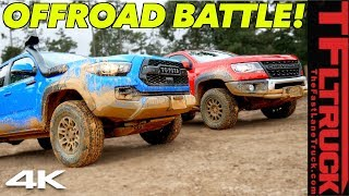 Can the New Chevy ZR2 Bison Take Down the Toyota Tacoma TRD Pro Off-Road? by The Fast Lane Truck