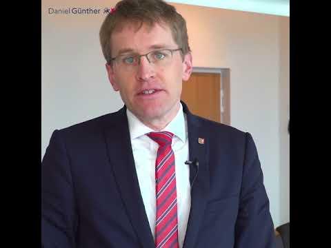 Ministerpräsident Daniel Günther zur Einigung über die Windenergieflächenplanung
