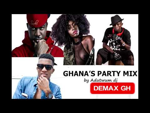 GHANA PARTY MIX(highlife mix) by Adutwum dj #ghanamusic #kofikinaata #fameye #yaajackson