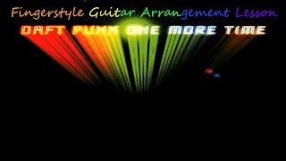 One More Time, Daft Punk - fingerstyle guitar arrangement, Jake Reichbart