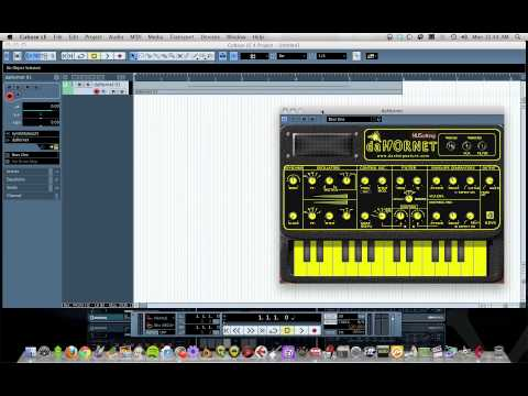 Cubase LE dubstep bass