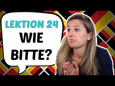 GERMAN LESSON 24: Asking for HELP in German (Useful Phrases) 😇😇 (видео)