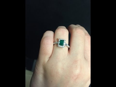 My Emerald Engagement Ring