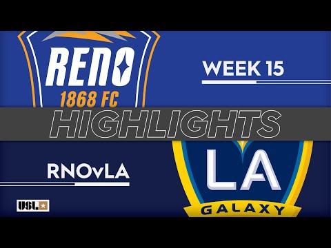 Reno - LA Galaxy 2 4:2. Видеообзор матча 16.06.2019. Видео голов и опасных моментов игры