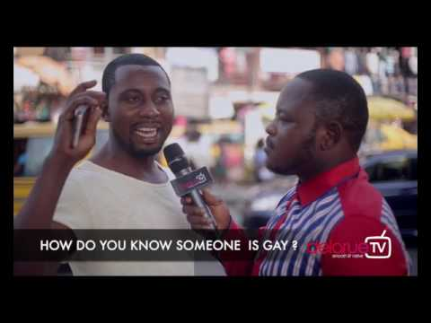 How do you know someone is Gay? DelarueTV | Street'ish