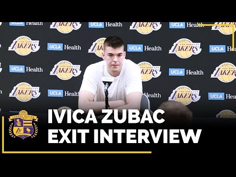Video: Lakers Exit Interviews 2018: Ivica Zubac