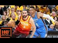 Oklahoma City Thunder vs Utah Jazz Full Game Highlights / Game 3 / 2018 NBA Playoffs waptubes