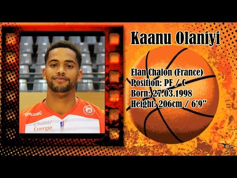 Kaanu Olaniyi 2016/2017 1st Half Highlights