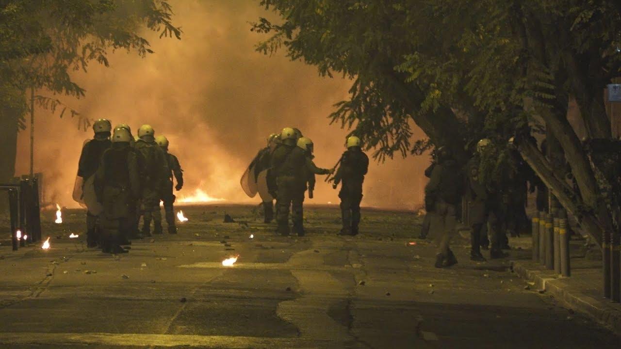 Επεισόδια μετά την πορεία για τα 9 χρόνια από την δολοφονία Γρηγορόπουλου