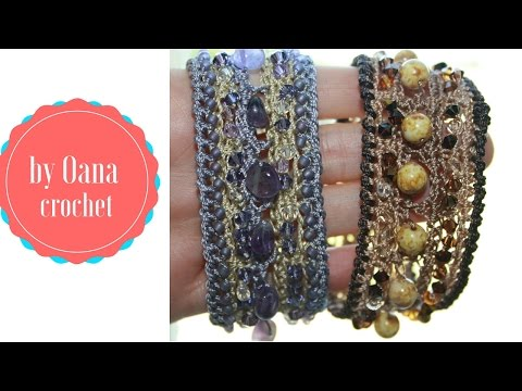 bracciale boho con perline