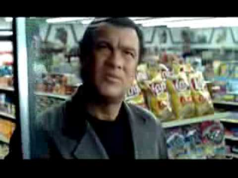 Steven Seagal Mountain Dew Commercial
