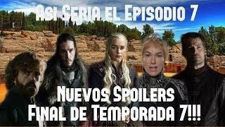 *Sígueme en mi facebook oficial: https://www.facebook.com/jagduranGOT/*Daenerys encarcela a sus dragones: https://www.youtube.com/watch?v=2S3DJfho0UE*Aquí se menciona el nombre del principe Aegon y la princesa Rhaenys al minuto 3:14: https://www.youtube.com/watch?v=JxkJgagppYw*El Verdadero Nombre de Jon Snow: https://www.youtube.com/watch?v=9wUDu4OX8dA------¡SORPRESA! Ya se anunciaron los miembros del elenco que estarán en el Comic Con de San Diego. Serán los actores que interpretan a Sansa, Missandei, Theon, Davos, Bran Stark, Varys, Brienne, Gusano Gris y Sam. Este 21 de Julio yo estaré ahí presente y trataré de saludarlos. Sígueme para más detalles.