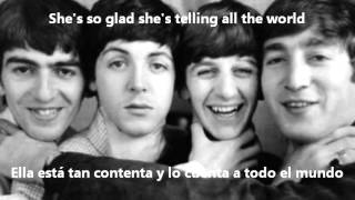 The Beatles - I Feel Fine (Lyrics On Screen)